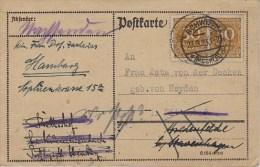 Germany; Infla Postcard - Sept. 23, 1923 - Alemania