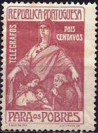 Portugal 1915 - Stamp-telegraph  ( Mi Z81 - YT TE1 ) MH * - Télégraphes