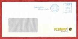 Brief, Francotyp-Postalia F721457, Grosse Gefuehle: Fleurop Bringt's, 55 C, Berlin 2006 (75095) - BRD