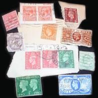 Great Britain GoldBag 1 KG (2LB-3oz) - Before Elisabeth II KILOWARE GB UK     [vrac Kilowaar Kilovara Stamps Mixture] - Timbres