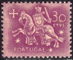 PORTUGAL - 1955,  Selo De Autoridade Do Rei D. Dinis.  30 C.  * *MNH  Afinsa  Nº 818 - Unused Stamps