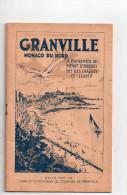 """Granville 50  """" Monaco Du Nord """" Revue Editee Par Le Syndicat Initiatives (40 Pages Publicite Et Divers ) - Publicités"""