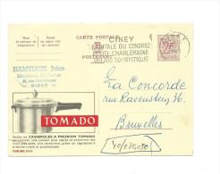 Publibel Obl. N° 2052  ( Casseroles à Pression TOMADO) Obl: Ciney; Route Charlemagne - Stamped Stationery