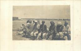 CARTE PHOTO ZUARA  SUL PONTILE - Libya