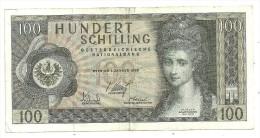 Austria 100 Shillings 1969 *V* - Autriche