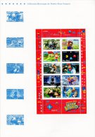 "Document Officiel 2005 (4 Pages) N° 21 05 509 "" HEROS DES JEUX VIDEO "" N° YT BF 91 (Lara Croft Sims Mario Pac-Man). DPO - FDC"