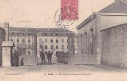 LAVAL  ENTREE DE LA CASERNE SCHNEIDER (DIL134) - Kazerne