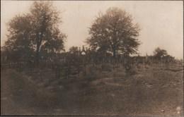 ! 1916 Fotokarte, photo Soldaten Friedhof bei Azannes , Verdun, Militaria, guerre 1914-18