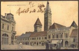 ROUMANIE - MEDIAS  MEDIASCH  MEDGYESROL  - Bah Post Brasso Buc... - 1910 - Romania