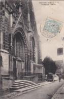 37 SAINT EPAIN  Coin Du VILLAGE Le PORTAIL De L'  EGLISE  Timbrée 1906 - Non Classificati
