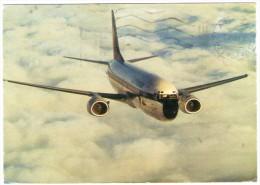 LUFTHANSA BOEING 737-300 / AVIATION / AVION / AIRPLANE / CIRCULATED FROM ZIMBABWE 1990 - 1946-....: Era Moderna