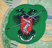 insigne tissu de la  section Vol � Voile de la base a�rienne 200 d�Apt sur le plateau d�Albion dans les ann�es 1980