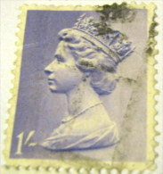 Great Britain 1967 Queen Elizabeth II 1s - Used - 1952-.... (Elizabeth II)