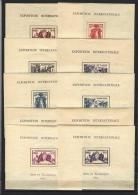 Exposition Internationale 1937 - Série Complète De 24 Blocs Neufs ** Qualité Luxe - 1937 Exposition Internationale De Paris