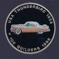 Surinam / Suriname 1996 100 Gulden Thunderbird 1956 - Surinam 1975 - ...
