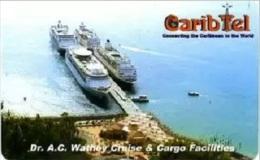 Antilles Netherlands - St.Maarten, Carib Tel Chip Card, 20$, Dr.A.C.Watley Cruice, Used - Antilles (Netherlands)
