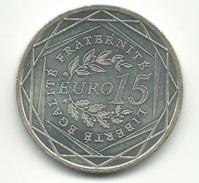 - 15 EUROS ARGENT 2008 - France