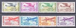 FRANCE  C 1-8  ** - A.E.F. (1936-1958)