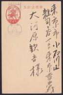 Japan Postcard Used, New Year Machine Cancel Mochi Rice Cake 1938 (jd214) - Interi Postali