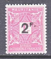 FRENCH  MAURITANIA  J 17   * - Mauritania (1906-1944)