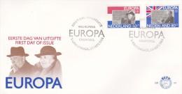 Netherlands 1980 Europa FDC - Europa-CEPT