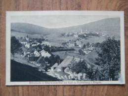 39869 POSTCARD: CZECH REPUBLIC: Bohmisch- U. Oberwiesenthal Mit Keil- U. Fichtelberg I. Erzgeb. - Tchéquie