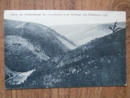 39871 POSTCARD: CZECH REPUBLIC: Blick Ins Oelbeckental Bei Joachimstal [vom Abstiege Des Keilberges Aus] - Tchéquie