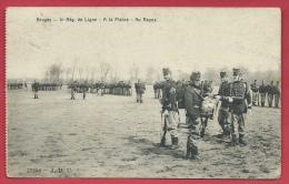 Brugge / Bruges - 4e Rég De Ligne - A La Plaine - Au Repos  - 1912 ( Voir Verso ) - Brugge
