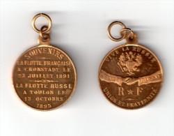Medaille amiti�e Franco Russe 1891-1893