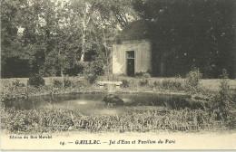 81 GAILLAC JET D EAU ET PAVILLON DU PARC - Gaillac