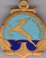 aviso La Gazelle - Courtois Paris  - Marine - �tat **