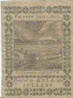15 SHILL.  PENNSYLVANIA   1773     VF - / q BB   FOR ISSUE