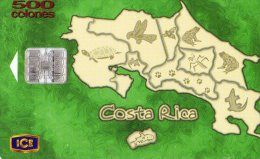 z95  - TELECARTE DU COSTA RICA