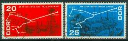 DDR 1966 / MiNr. 1227 - 1228    O / Used  (s68) - [6] République Démocratique
