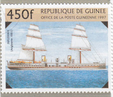 Rep. Guinea 1997  -  Yt 1121  Used    Navi - Schiffahrt