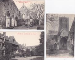LOT DE  9  CPA  DE   L´ABBAYE  DE  LA  LUCERNE (  50  )   - Toutes Scanées - 5 - 99 Postcards