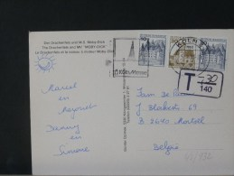 48/932    CP ALLEMAGNE    TAXE - Storia Postale