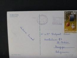 48/938      CP  JOEGOSLAVIE - Lettres & Documents
