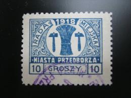 10 Groschen Stadtpostmarke - Gebraucht