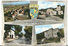 CPSM 26 SAINT MARTIN D´HOSTUN BELLES MULTIVUES - Sin Clasificación
