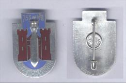 Insignes de la 753e Compagnie de Munitions