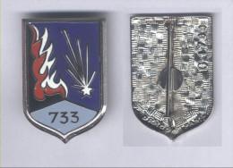 Insignes de la 733e Compagnie de Munitions