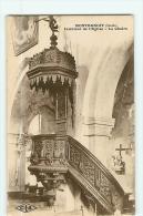 Lot 10 CPA - MONTBENOIT Et Son EGLISE : La Chaire , L' Intérieur , Les Panneuax Et Statues , Etc.. - 10 Scans - France