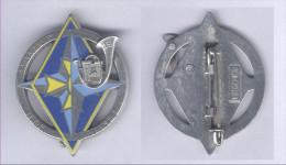 Insignes du 19e Bataillon de Chasseurs � Pied - IFOR - Bat Inf 2 - Sarajevo