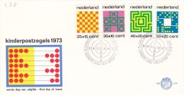 Netherlands 1973 Child Welfare FDC - FDC