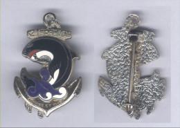 Insignes du 21e R�giment d'Infanterie de Marine