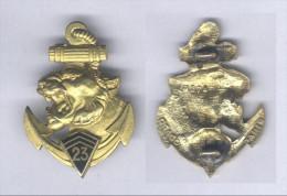 Insignes du 23e Bataillon d�Infanterie de Marine