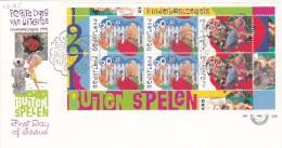 Netherlands 1991 Child Welfare Miniature Sheet FDC - FDC