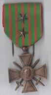 MEDAILLE REPUBLIQUE FRANCAISE 1914-1918 deux �toiles