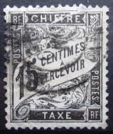 FRANCE              Taxe N° 16           OBLITERE - Taxes
